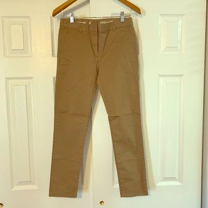Skinny Mini Khakis by GAP Size 0 Dark Tan